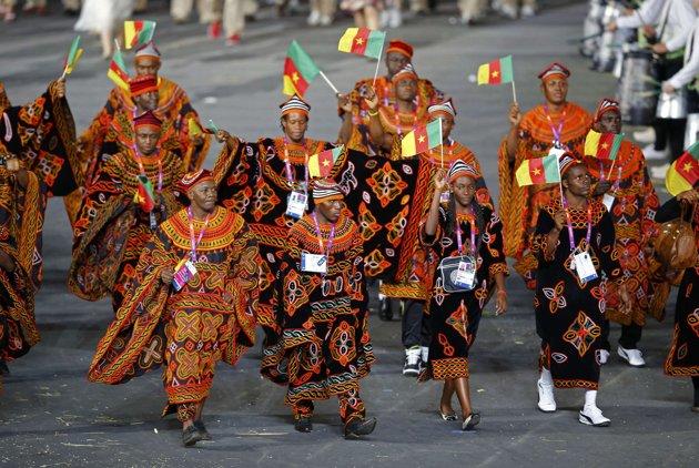 Cameroon Flag Dress